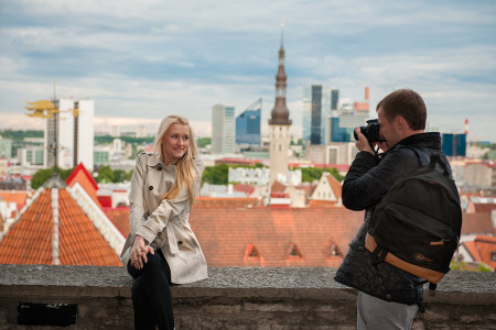 Tallinn couple photographer in Estonia