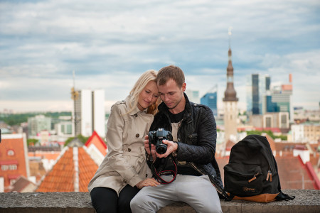 couple Tallinn photographer in Estonia