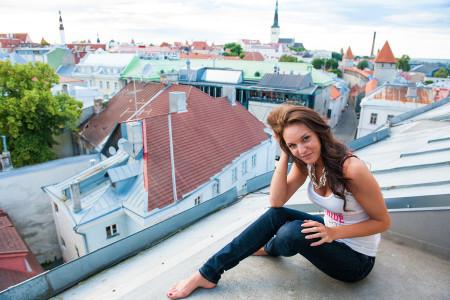 Model shooting Tallinn